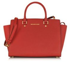 must have bag / Michael Kors マイケル コース Large Selma Top-Zip Saffiano Leather Satchel - shopstyle.co.jp