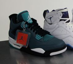 Air Jordan IV Teal (Spring 2015) Preview