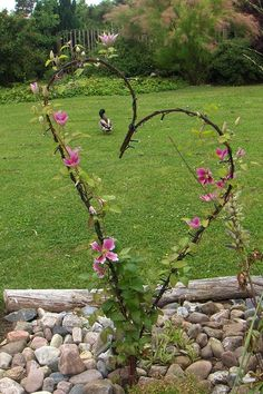 70 cool and unique DIY garden art ideas for attractive garden - collee . - 70 cool and unique DIY garden art ideas for attractive garden – colleen dahlin garden - Garden Crafts, Garden Projects, Garden Tips, Outdoor Projects, Yard Art, Back Gardens, Outdoor Gardens, Small Gardens, Unique Gardens