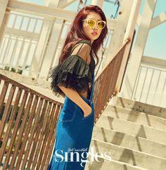 「박신혜 singles」の画像検索結果