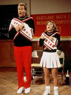 Will Ferrell and Cheri Oteri - cheerleaders SNL