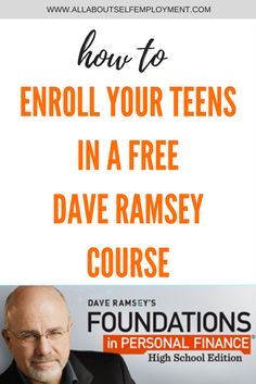 Personal Finance for Teens: The Ultimate Guide My teens took a FREE Dave Ramsey course online. Find out how your teens can, too---> www. Teen Programs, Online Programs, Importance Of Time Management, Math Help, Learn Math, Homeschool High School, Homeschool Curriculum, Budgeting Finances, Budgeting Tips