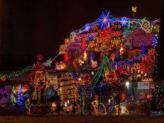 Best Christmas Light Display Ever | luces de Navidad Canadá