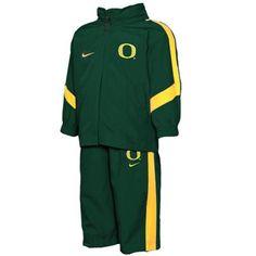 Nike Oregon Ducks Toddler Hoodie Jacket & Pants Windsuit - Green