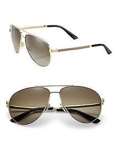 db47958ab0 Gucci - 61MM Aviator Sunglasses