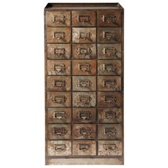 Perfect for storing Bezoars and elixirs, this cabinet from Maison du Monde will be at home in any Potions Lab. Industrial Chic, French Industrial, Industrial Revolution, Industrial House, Industrial Furniture, Industrial Design, Printers Drawer, Indoor Outdoor Furniture, Sweet Home Alabama
