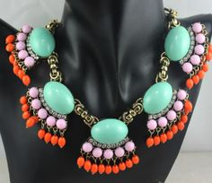 2014 Designer women bib statement Necklace ,colorful Resin Choker necklace collar Costume Jewelry A024 $7.35