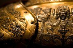 Detail of Henry II's steel armor, 1555