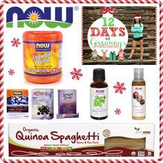 @NOWFOODS GIVEAWAY + PROTEIN SUGAR COOKIE RECIPE for day 4 of the #12daysofgiveaways!