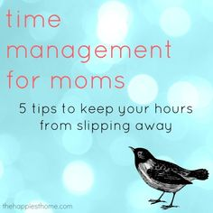 Do your hours keep slipping away? 5 time-management tips that work for me.