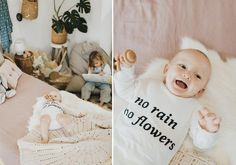 Happy Baby on Bed No Rain No Flowers, Room Style, Happy Baby, Fashion Room, Warm And Cozy, Little Ones, Kids Room, Toddler Bed, Children