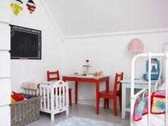 NYTT OG GAMMELT: Kunsten med å skape hygge på barnerommet handler mye om å bruke det du har, finne søte bruktskatter og å få frem personlighet på den lilles rom. La minstemann være med på å innrede!
