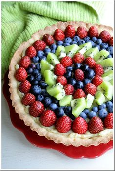 Super Simple Fresh Fruit Tart www.susiehomemaker.com and www.designingdfw.com and www.youtube.com/user/susiehomemakerco  please join www.twitter.com/susiehomemaker1