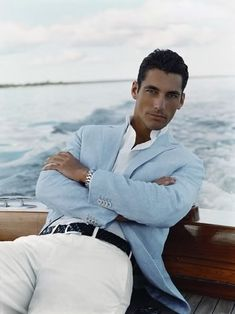 David Gandy, Summer Chic, men's fashion, men's style