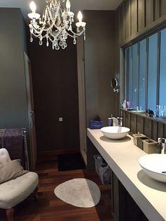 stilvoll eingerichtetes bad inklusive dusche mit glaswand #erdmann, Hause ideen
