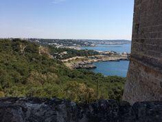 view from Porto Selvaggio