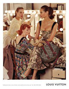 impeccable: Louis Vuitton Fall 2010 Campaign | Christy Turlington, Natalia Vodianova & Karen Elson by Steven Meisel