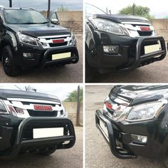 Phil chose our Black A-Bar with Axle Guards for his Isuzu D-Max - With full EU type approval certificate and TUV approval these are fully road legal unlike many others out there. Available in stainless steel and without the axle guards also. #4x4 #Direct4x4 #Isuzu #DMax #ABar #BullBar #FrontBar #EUApproved #HappyCustomer #GreatFeedback