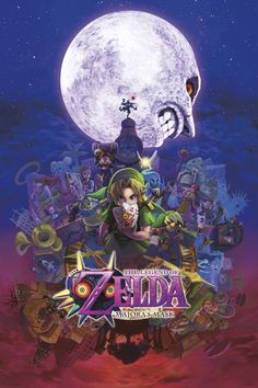 Zelda Majora's Mask Gaming Poster