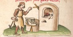 """Kalendarium, medizinische und astronomisch/astrologische Texte Johannes Birk (?): 'Stiftung des gotzhaus Kempten' (""""Karlschronik"""") Baumzucht Cgm 9470 Schwaben (Kempten?), 1499/um 1500 Folio 68v"""