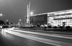 Poznan Malta City Center. Night Photography.