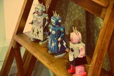 Pois Plume ~ Petits Robots
