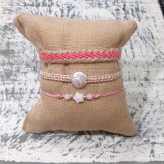 Me encanta como queda esta combinación de rosa y beige.