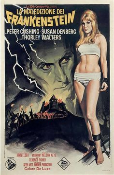 B-Movie Women | FRANKENSTEIN CREATED WOMAN - Italian B Movie Posters Wallpaper Image