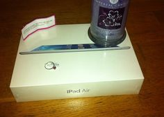 Our lucky winner of the Ipad Air received her prize today . Imperial Candles, Handmade Candles, Ipad Air, Uk Shop, More Fun, Congratulations, Wax, Jewels