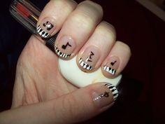muisic+nail+art | Music nails by ffishy21