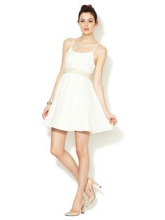 Cat Belted Silk Dress by Alice + Olivia on Gilt.com