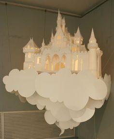 castle in the sky lantern