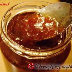 Μαρμελάδα σταφύλι Cooking Jam, Sweet Recipes, Jelly, Dips, Pudding, Favorite Recipes, Sweets, Homemade, Chocolate