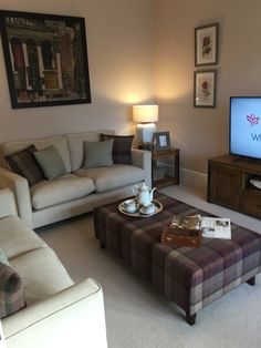 Redrow Living Room Oxford
