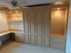 Craft Room/ Guest Room Murphy Bed