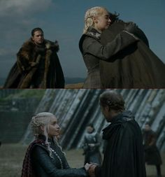 "Jorah & Daenerys' reunion and farewell (7x5 ""Eastwatch"") Game of Thrones."