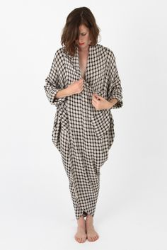69-plaid-linen-cocoon-dress-404168.jpg 667×1 000 pixels