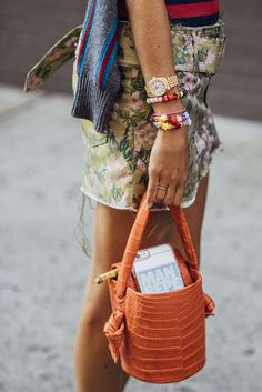September 8, 2016 Tags Orange, Pink, Green, Navy, Stripes, Crocodile, Leandra Medine, Women, Prints, Florals, Bracelets, Bags, Skirts, Watches, New York, SS17 Women's