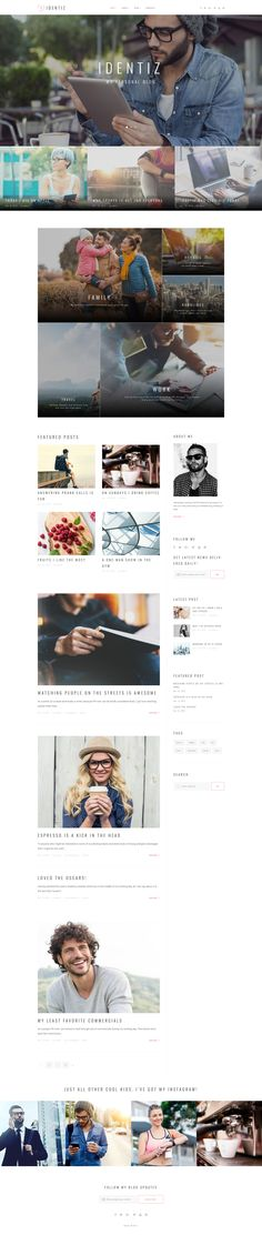 Thinking about launching your own blog? This thought-through Personal Blog WordPress Theme will enrich your future website with the alluring look and powerful feel. In case you need to tweak any el...