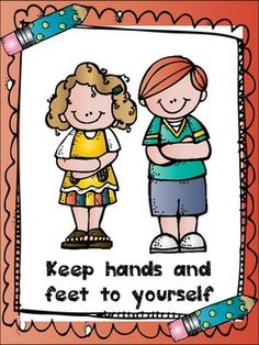 This is a set of class rules you can use with your 1st and 2nd graders. It includes common rules like raise your hand, follow directions, keep hands and feet to yourself and some other important  ones. There are 7 rules in all.  Feel free to visit my blog The Groovy Teacher for more freebies!