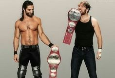 seth rollins and dean ambrose with championship Dean Ambrose Seth Rollins, Wwe Seth Rollins, Wrestling Superstars, Wrestling Wwe, Wwe Highlights, Roman Reigns Dean Ambrose, The Shield Wwe, Hd Wallpaper, Wallpapers