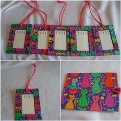 Tag de Mala Color Cats  www.munayartes.com