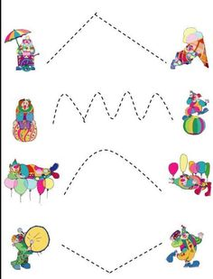 Preschool Circus, Circus Activities, Circus Crafts, Preschool Learning Activities, Free Preschool, Baby Learning, Preschool Worksheets, Toddler Activities, Preschool Activities
