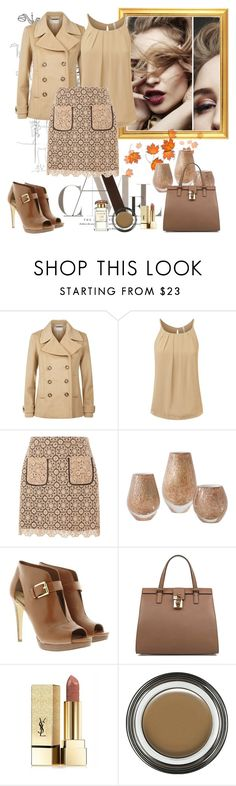 """Untitled #981"" by misaflowers ❤ liked on Polyvore featuring MICHAEL Michael Kors, Dorothy Perkins, Global Views, Dolce&Gabbana, Yves Saint Laurent and Giorgio Armani"