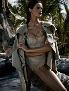 visual optimism; fashion editorials, shows, campaigns & more!: sal & sombra: izabel goulart by nicole heiniger for harper's bazaar brazil november 2014