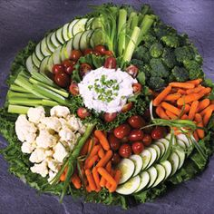 Gourmet Fruit Party Tray from Joe's Produce Fresh Vegetables, Veggies, Vegetable Appetizers, Veggie Platters, Veggie Cups, Crudite, Relish Trays, Party Trays, Party Tables