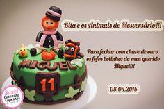 Sweet Cucas and Cupcakes by Rosângela Rolim: Bita e os Animais de Meversário