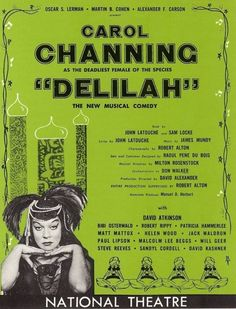 Poster for The Vamp (Original Broadway Production, 1955) a