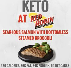 red robin low carb choices
