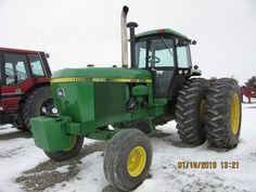 Old John Deere Tractors, Jd Tractors, Tractor Cabs, John Deere Combine, Agriculture, Farming, Diesel Trucks, Vehicles, Childhood